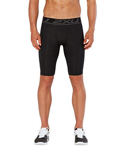 Short para hombre 2 U Compression Nero Black x Accelerate 7UaxqRCw