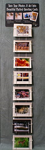 "Photographer's Edge, Wall Rack, Horizontal Pockets For 5"" x 7"" Cards"