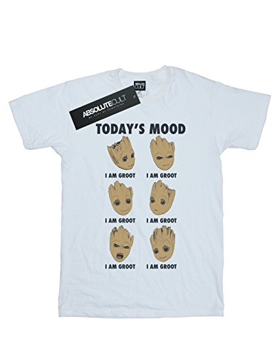 Marvel The Blanc Groot Homme Today's shirt Mood Galaxy Of Guardians T RwqrxXvtR