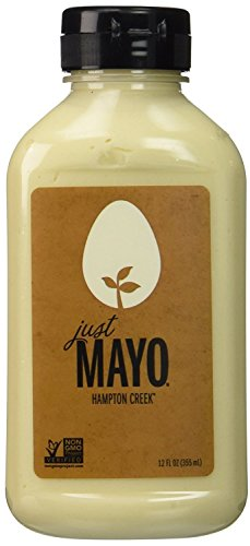 Hampton Creek Just Mayo Vegan Eggless Soy-Free Kosher Mayonnaise - Pack of 2