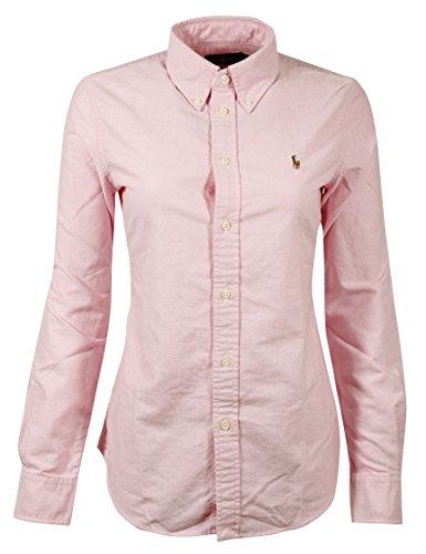 Ralph Lauren Womens Oxford Classic Fit Button Down Shirt -New Rose-S (Ralph Lauren Clothing Women)