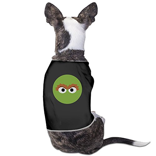 Funny Sesame Street Oscar Face Pet Dog T Shirt. by SUPERDOG-a001 (Collection Costumes Oscar)