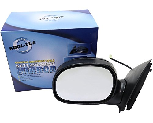 Kool Vue FD40EL Ford F-Series Extended/Standard Cab Driver Side Mirror, Paint to Match ()