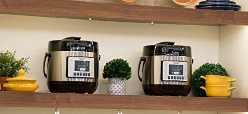 NuWave Nutri-Pot 8 Quart Digital Pressure Cooker,gray/black,8 qt. by NuWave (Image #4)