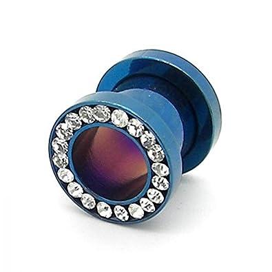 1 Túnel designgoods acero inoxidable brillante azul 10 mm ...