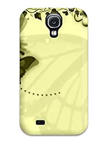 Excellent Galaxy S4 Case Tpu Cover Back Skin Protector Butterfly wangjiang maoyi
