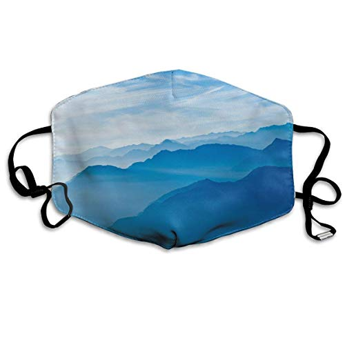 VBTY Smokey Mountains Printed Mouth Masks Unisex Anti-dust Masks Reusable Face Mask -