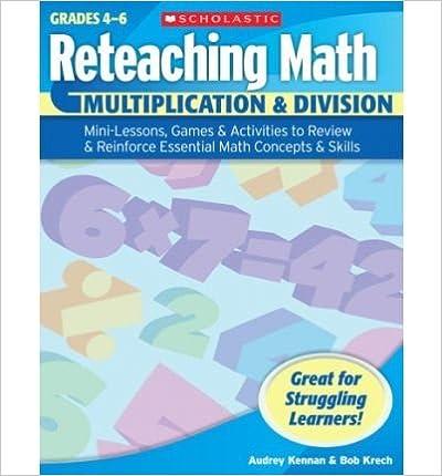Book Reteaching Math: Multiplication & Division