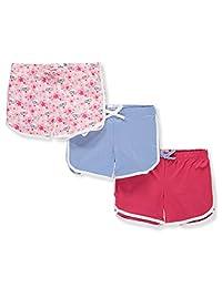 Pink Velvet Girls' 3-Pack Shorts