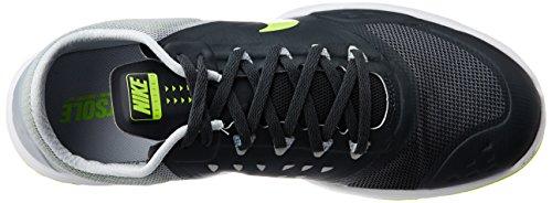 Nike Fs Lite Trainer Ii Uomini Punta Rotonda Blu Sintetico Scarpa Da Corsa Antracite / Grigio Lupo / Platino Puro / Volt
