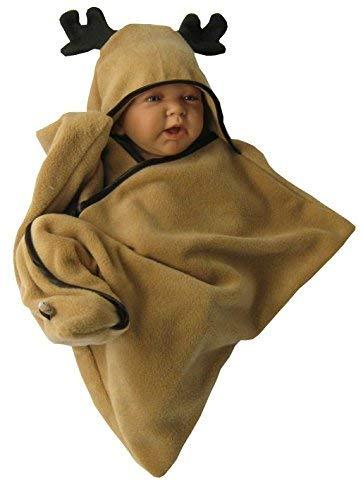 Modestil professionelles Design beste Sammlung star fleece baby wrap stern schlafsack pucktuch swaddle elch ...