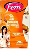 Fem Sandal Anti Darkening Hair Removal Cream - 40 g (Pack of 2)