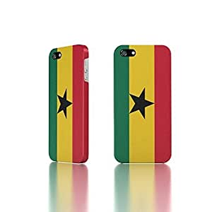 Apple iPhone 5 / 5S Case - The Best 3D Full Wrap iPhone Case - Country Flag of Ghana