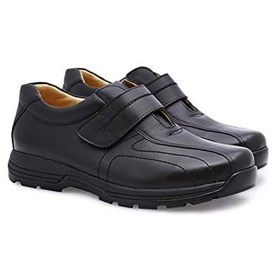 Lemex Black Oxford & Wingtip For Men