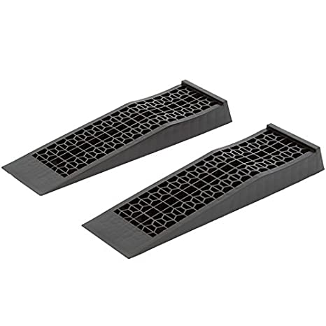 Low Car Ramps >> Discount Ramps 6009 V2 Low Profile Plastic Car Service Ramps 2 Pack