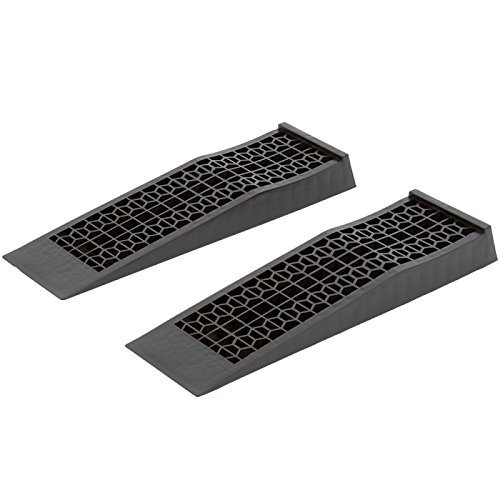 (Discount Ramps 6009-V2 Low Profile Plastic Car Service Ramps – 2 Pack)