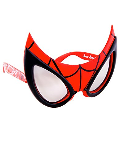Sun-Staches Costume Sunglasses Spiderman Party Favors