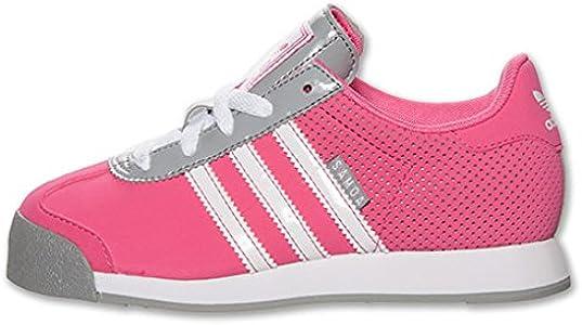 Amazon.com   adidas Samoa Leather Casual Girls' Preschool Shoes ...