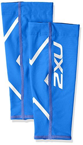 2XU Compression Calf Guards, Royal Blue/Royal Blue, Small