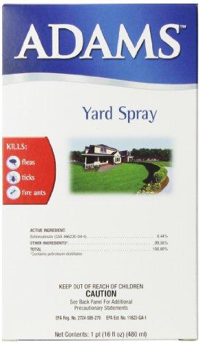 Adams Yard Pest Control Spray, 16-Ounce