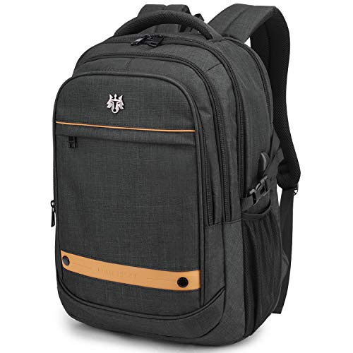 WindTook Laptop Backpack Business Travel 15.6inch with USB Charging Port, College School Computer Bag for Women & Men