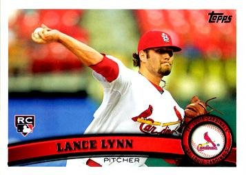 2011 Topps Update Baseball #US114 Lance Lynn Rookie Card