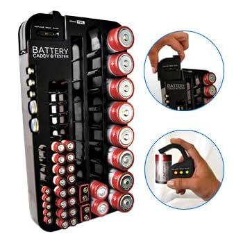 Amazon.com: Battery Organizer Storage Case by Range Kleen