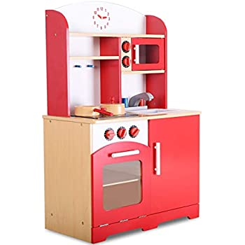 Amazon Com Kidkraft Girl S Pink Toddler Kitchen With Accessories Toys Amp Games
