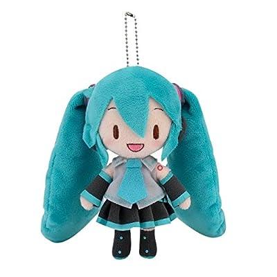 """SEGA 115-1014865A Hatsune Vocaloid Ballchain Standing Miku Plush, 5"""": Toys & Games"""
