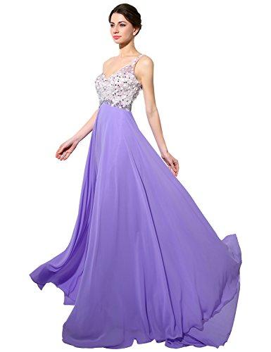 Sarahbridal Damen ALinie Kleid Lavendel zNvi44gH - yuan.ffw ...
