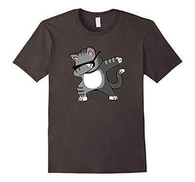 Dabbing Cat T-Shirt - Funny Cat Dab Dance Kitty Shirt