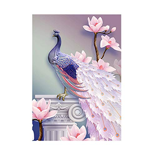 FeiFei66 New Rhinestone+Canvas 5D Embroidery Paintings Rhinestone Pasted DIY Diamond Painting Cross Stitch,30x40cm (A) ()