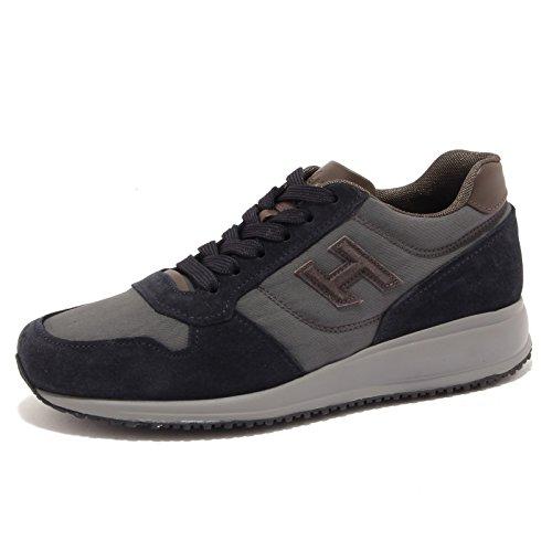 Hogan 6853U sneaker uomo INTERACTIVE N20 blu grigio shoe men Blu/Grigio