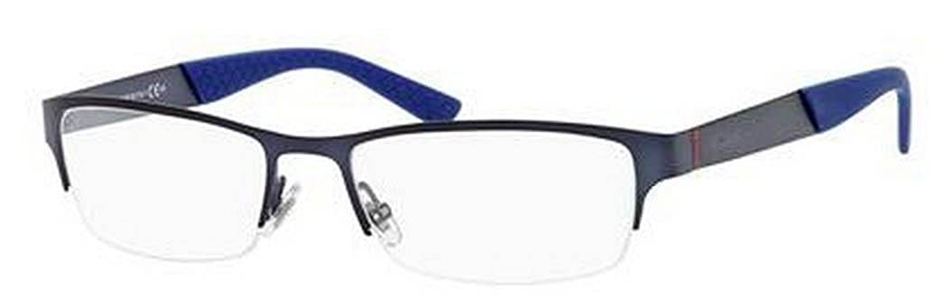 d86da3adfad Amazon.com  Gucci GG2230 Eyeglasses-0R0N Matte Blue-54mm  Clothing