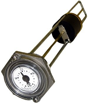 Rochester Gauge 8680 Series Flat Dial Vertical Fuel or Oil Level Gauge 33.5''