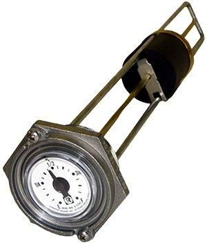 Series Fuel Gauge (Rochester Gauge 8680 Series Flat Dial Vertical Fuel or Oil Level Gauge 43.5