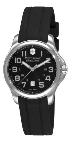 Victorinox Swiss Army Women's 241367 Officer's Black Dial - Swiss Military Watch Women