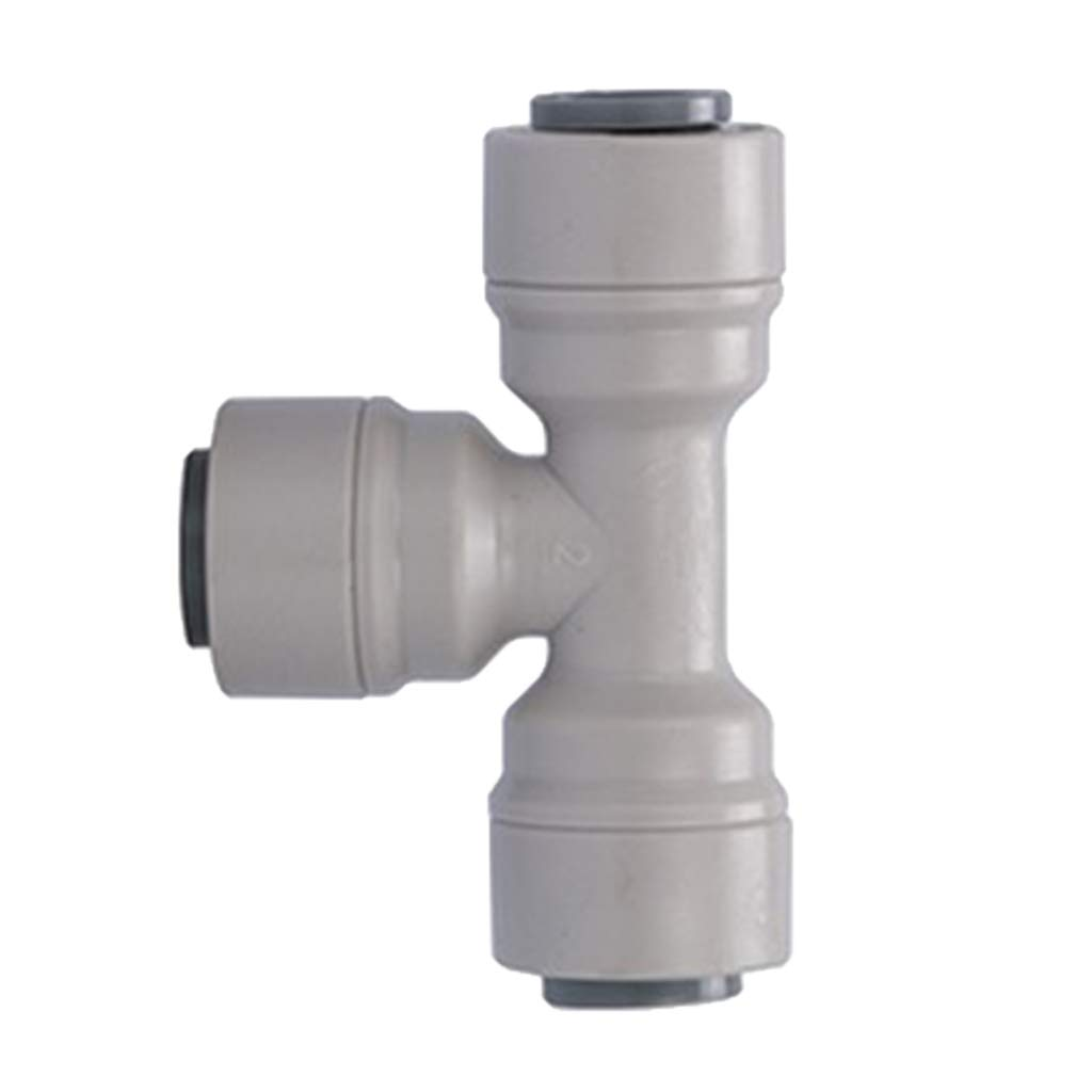 perfk 6mm to 6mm 3 Ways Push in One Touch T Shaped Quick Fittings