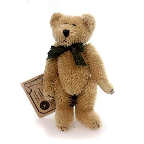 (Boyds Bears Plush ORVILLE BEARINGTON Fabric Teddy Bear Mohair Jointed 59008503)