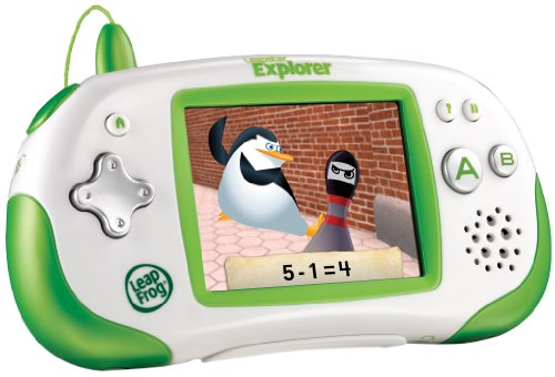 LeapFrog Leapster Explorer Learning Game System, Green by LeapFrog