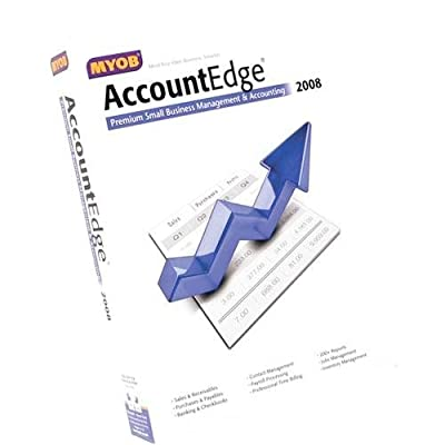 Myob Accountedge 2007 for Mac Also Includes Network Edition