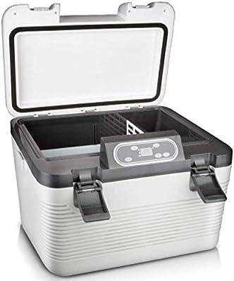 19L del coche nevera de compresor Freezer- fresco eléctrico Caja de camping Frigorífico 24V / 12V / 220-