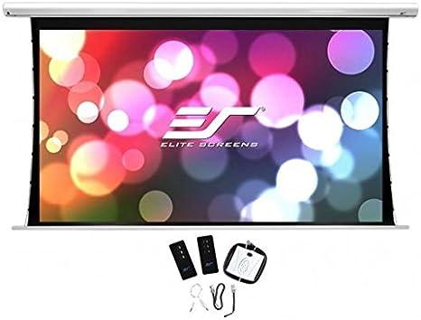 Elite Screens Saker Tension AcousticPro UHD Pantalla de proyección ...