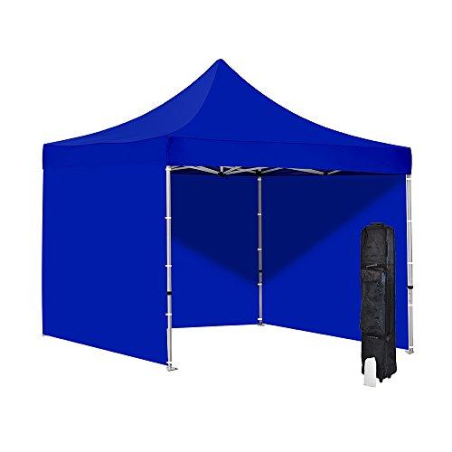 Cheap Canopies vispronet blue 10x10 ez pop up canopy tent commercial grade resists  sc 1 st  Patio Designs & Vispronet - Blue 10x10 Ez Pop-up Canopy Tent - Commercial Grade ...