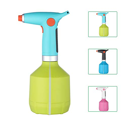 UPAAN Electric Watering Can High Pressure Garden Sprayer Indoor Outdoor for Plant Watering,Weeding,Fertilizing,Washing Car,Household Cleaning,Insecticide,Disinfection(Green)