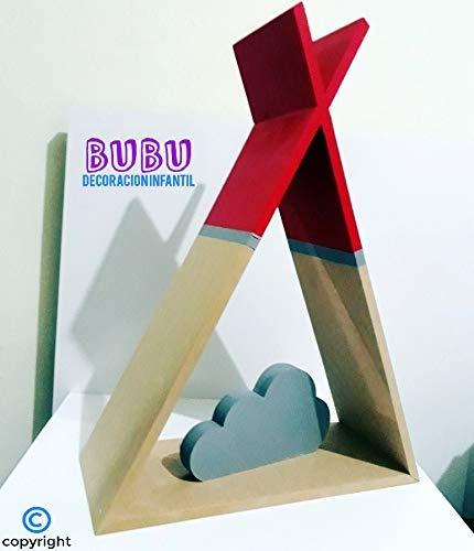 Repisa Tipi (Teepee) infantil: Amazon.es: Handmade