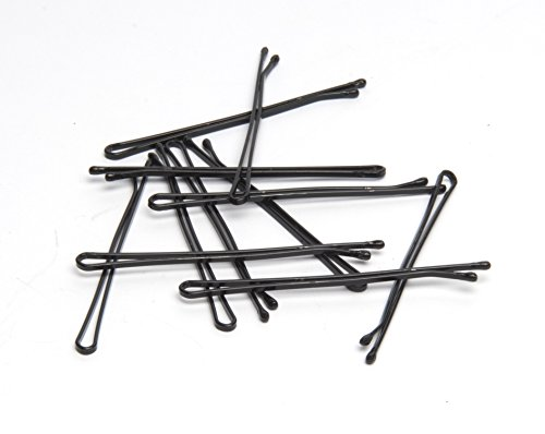 Diane Curved Jumbo Bobby Pins, Black, 80 Count, D417
