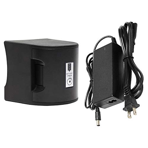 2019 Update - Lighter Rechargeable Ni-Cade Battery and Charger for TERAPUMP TReDRUM Electric Drum Pump (Standard and (Best Tera Rechargeable Batteries)