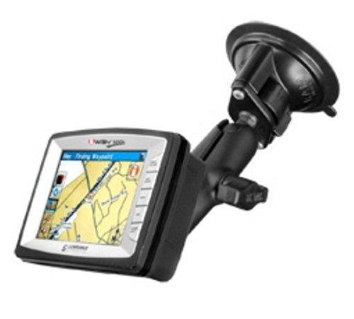 Amazon.com: Gire bloqueo Copa de succión para el Lowrance AirMap GPS Aviación 2000c (Negro): Electronics