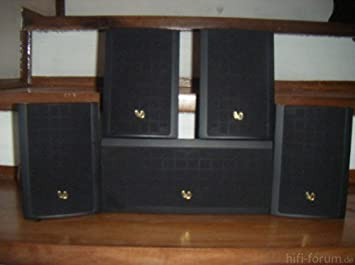 infinity surround speakers. infinity minuette mps surround sound satellite speakers and center channel 5 piece